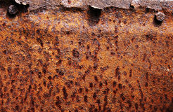 Abstract texture of rusty metal Royalty Free Stock Images