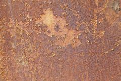 Abstract texture of a rusty surface iron Royalty Free Stock Photos