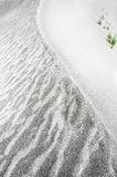 Abstract texture of sand dune in desert Stock Photos