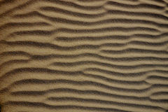 Abstract texture of a a sand dune Stock Image