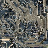 Abstract texture - spoiled electronic components Royalty Free Stock Photography