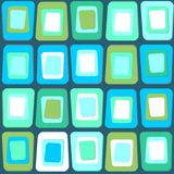 Abstract texture of square shapes in Sixties style Royalty Free Stock Photography