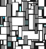Abstract texture from squares and line vector illustration