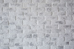 Abstract  texture stained old  light gray and a white brick wall background in rural room, grungy rusty blocks,architecture wallpa Stock Photos