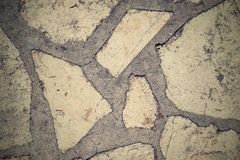 Abstract texture of a stone concrete floor for backgrounds Royalty Free Stock Photography