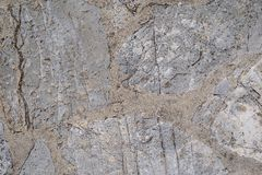 Abstract texture of a stone concrete floor Stock Photo