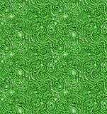 Abstract veins green nature seamless background. Abstract texture with veins and lines green jungle nature background poster. Seamless texture pattern wallpaper stock illustration