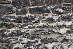 An abstract texture of wall. A medieval masonry from large grey stones. An abstract texture of wall for design and background. A medieval masonry from large grey royalty free stock photography