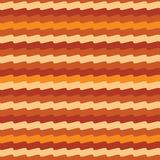 Abstract texture wave 2 simple orange Stock Image