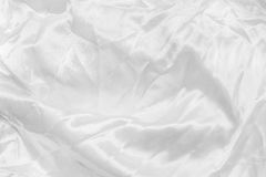 abstract texture of white satin fabric Royalty Free Stock Image