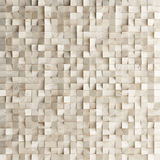 Abstract texture from wooden cubes, Royalty Free Stock Image