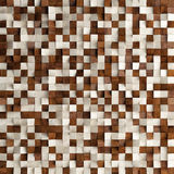Abstract texture from wooden cubes, Stock Photos
