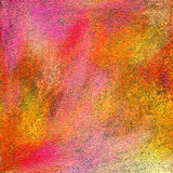 Abstract textured acrylic and oil pastel hand painted background Stock Photography