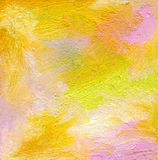 Abstract textured acrylic and oil pastel painted background Royalty Free Stock Photos