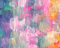 Abstract textured acrylic and watercolor painted background Royalty Free Stock Images