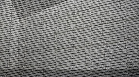 Abstract textured architecture. Grey photomontage with patterns and lines Royalty Free Stock Photography