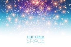 Abstract Textured Background. Glitter Dust. Vector illustration Royalty Free Stock Images