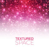 Abstract Textured Background. Glitter Dust. Vector illustration Stock Image