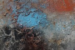 Abstract textured background - grungy metal close up Stock Photography