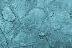 Abstract textured background of a stone tile blue color Stock Images