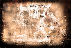 Abstract, textured, backgrounds Stock Photography