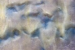 Abstract textured bumpy background of a surface iridescent color Royalty Free Stock Photography
