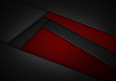 Abstract Textured Carbon Fiber Material Design For Background Stock