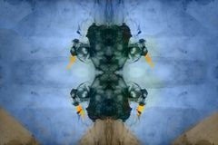 Abstract textured digital painting Royalty Free Stock Images
