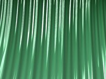 Abstract textured green fractal lines, plastic curtain, graphic. For creative art, design and entertainment. Background for brochure, website, flyer design vector illustration