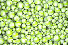 Abstract textured green marbles. High quality rendering of abstract textured green marbles Stock Photo