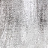 Abstract textured grey hand painted canvas background Stock Images