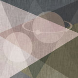 Abstract textured illustration geometrical Stock Images