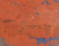Abstract textured rust metal surface background Royalty Free Stock Images