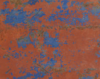 Abstract textured rust metal surface background Royalty Free Stock Photography