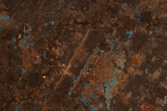 Abstract textured rust metal surface background Stock Images