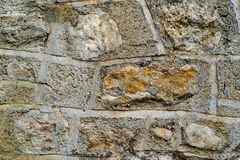 Abstract texture of a stone wall Stock Photos