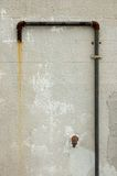 Abstract texured backdrop. Rusted old pipe // Abstract texured backdrop stock photography