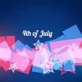 Abstract 4th of july Stock Photo