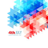 Abstract 4th of july design. Vector abstract 4th of july independence day background vector illustration