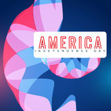 Abstract 4th of july Royalty Free Stock Photography