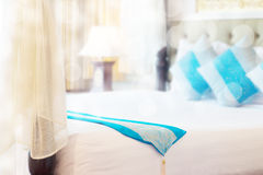 Abstract thai style bedroom Stock Photography