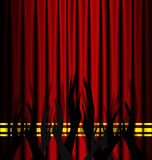 Abstract theatre applouse Royalty Free Stock Photos
