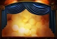 Abstract theatre background Royalty Free Stock Photos