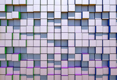 Abstract  three-dimensional cubes  background Stock Photo