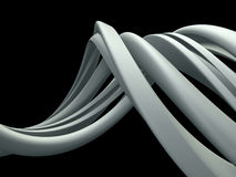 Abstract Three Dimensional Dynamic Royalty Free Stock Image