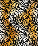 Abstract  tiger seamless pattern Royalty Free Stock Photo