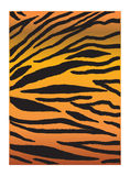 Print TIGER. Tiger PRINT. Tiger black striped and orange color background. Digital illustration. Vector file with layers. Tiger pattern For Advertising, Art royalty free illustration