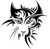 Abstract tiger. In tattoo style Stock Photos