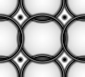 Abstract tile background in black and white Stock Photos