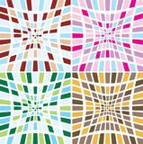 Abstract tile suck multi Royalty Free Stock Photo